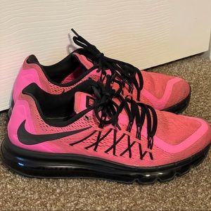Nike air max 2015 pink Mrs.Linen sneakers size 9.5